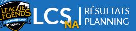 Résultats, planning & Classement Summer Split LCS NA 2017